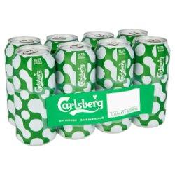 Carlsberg Lager 8 x 440ml PMP £8.25