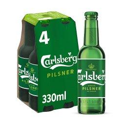 Carlsberg Lager Beer 4 x 330ml