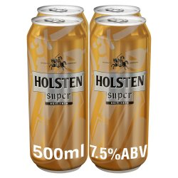 Holsten Super Lager Beer 4 x 500ml