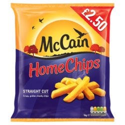 Mccain Home Chips PM GBP2.50