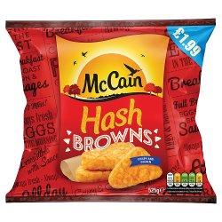 McCain Hash Browns 525g