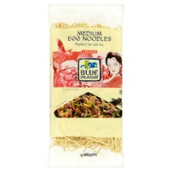 Blue Dragon Medium Egg Noodles 3 Blocks 250g