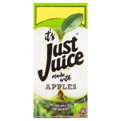 Just Juice 100% Pure Apple Juice from Concentrate 1L