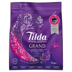Tilda Grand Extra Long Basmati 5kg