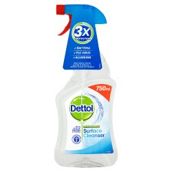 Dettol Antibacterial Surface Cleaning Spray, 750ml