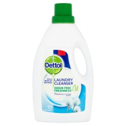 Dettol Laundry Cleanser Fresh Cotton 1L