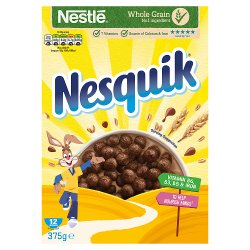 Nesquik Cereal 375g Box