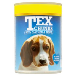 Tex Chunks with Chicken & Tripe 400g