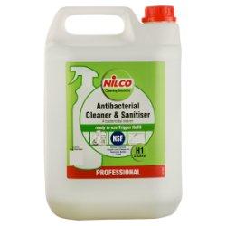 Nilco Professional Antibacterial Cleaner & Sanitiser H1 5 Litre