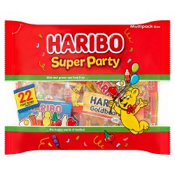 HARIBO Super Party Multipack Bag 352g