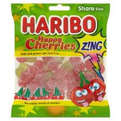 HARIBO Happy Cherries Z!ng Bag 140g