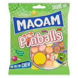 MAOAM Pinballs Bag 140g £1PM