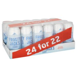 Frosty Jack's Cider 24 for 22 24 x 500ml