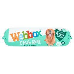 Webbox Chub Roll Duck Flavour 1-7 Years 720g