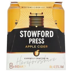 Stowford Press Apple Cider 4 x 440ml
