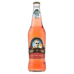 Henry Westons Vintage Rosé Cider 500ml