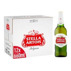 Stella Artois Belgium Premium Lager 12 x 660ml