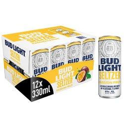 Bud Light Seltzer Passion Fruit Cans 12 x 300ml