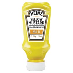 Heinz Yellow Mustard Mild 240g