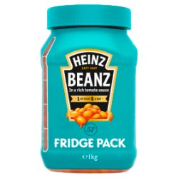 Heinz Beanz Fridge Pack 1kg
