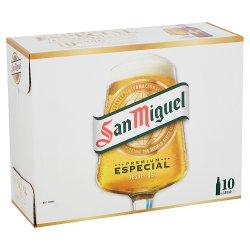 San Miguel Premium Lager 10 x 330ml