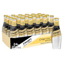 Schweppes 1783 Crisp Tonic Water 24 x 200ml