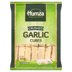 Humza Premium Food Products Crushed Garlic Cubes 400g