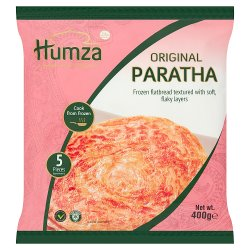 Humza Premium Food Products 5 Original Paratha 400g
