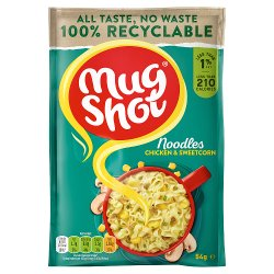 Mug Shot Chicken & Sweetcorn Noodles 54g