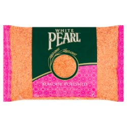 White Pearl Masoor Polished Red Split Lentils 2kg