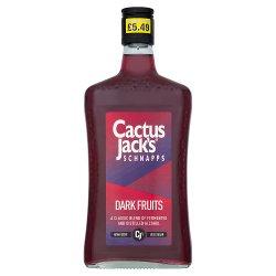 Cactus Jack's Schnapps Dark Fruits 50cl