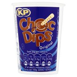 KP Choc Dips Original 32g