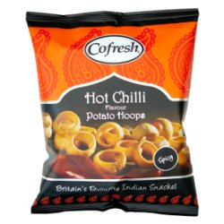 Cofresh Chilli Flavour Potato Snacks 28g