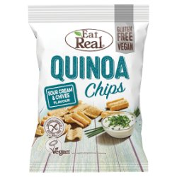 Eat Real Quinoa Chips Sour Cream & Chives Flavour 30g