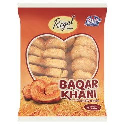 Regal Bakery Baqar Khani Puff Pastry Hearts 350g