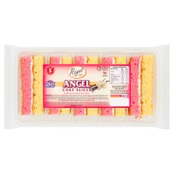 Regal Bakery 5 Angel Cake Slices