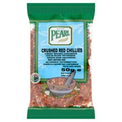 White Pearl Crushed Red Chillies 50g
