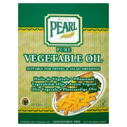White Pearl Pure Vegetable Oil 20 Litre