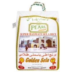 White Pearl Super Basmati Sela Rice 10kg