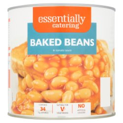Essentially Catering Baked Beans in Tomato Sauce 2.62kg