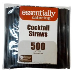 Essentially Catering 500 Cocktail Straws