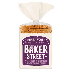 Baker Street Sliced Seeded Loaf 550g