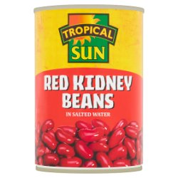 Tropical Sun Red Kidney Beans in Salted Water 400g