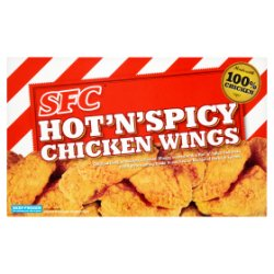 SFC Hot 'N' Spicy Chicken Wings