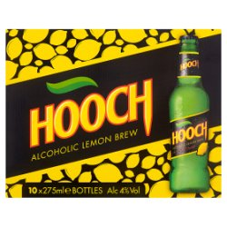 Hooch Alcoholic Lemon Brew 10 x 275ml
