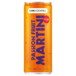 Flare Cocktails Passion Fruit Martini 250ml