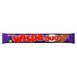 Cadbury Wispa Duo Chocolate Bar 51g