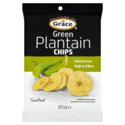 Grace Green Plantain Chips Salted 85g