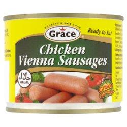 Grace Chicken Vienna Sausages 200g