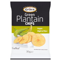 Grace Green Plantain Chips 35g